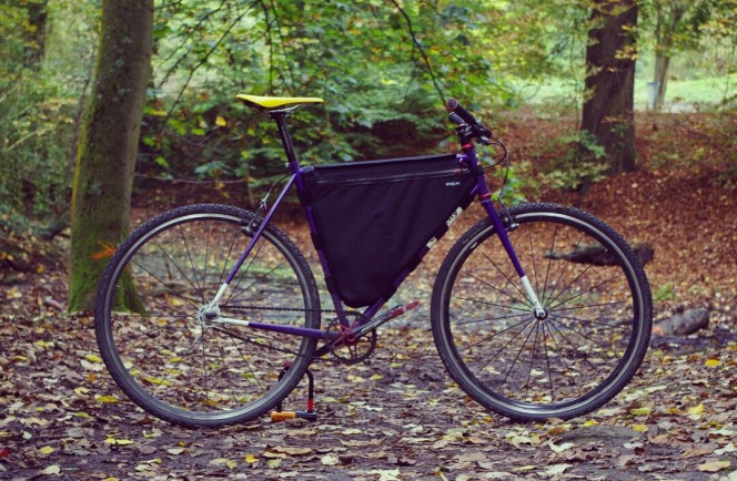 Frame bag pour le Allcity Nature Boy
