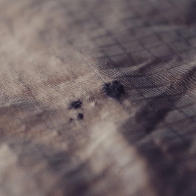 Débarrassé des fibres de primaloft
