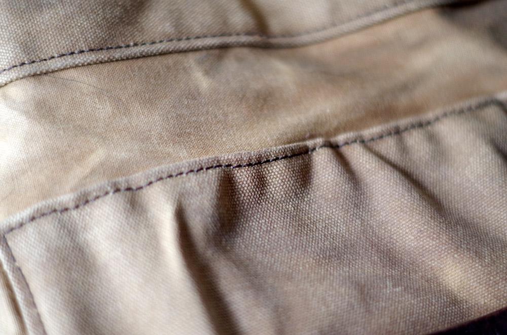 Cirer une veste en coton