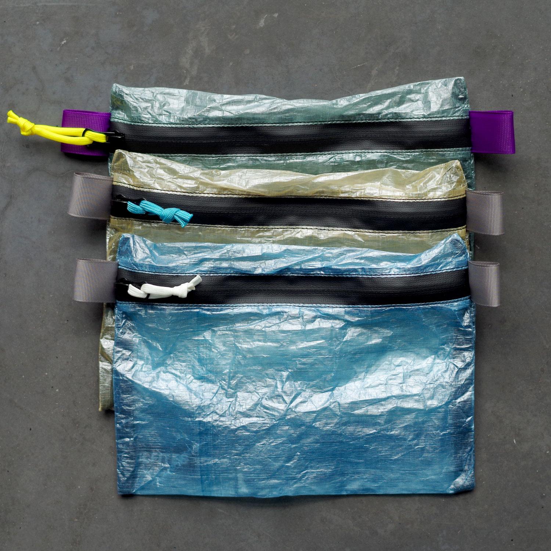 Pochettes 23x17cm en Dyneema (anciennement Cuben Fibre)