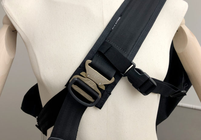 New shoulder strap with Cobra Buckle